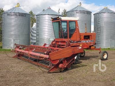 1981 CASE IH 5000 19 Ft Swather