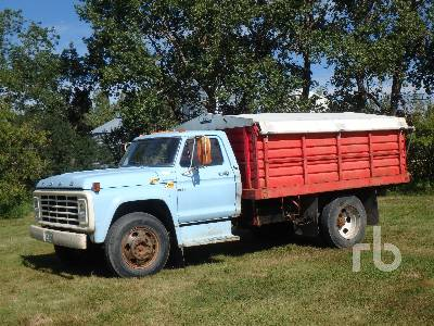 1974 FORD F500 S/A Grain Truck