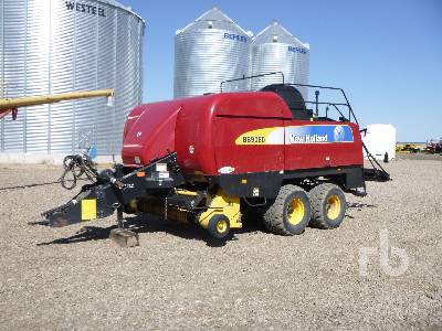 2012 NEW HOLLAND BB8090 T/A Big Square Baler