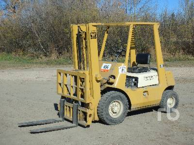 TOYOTA 20 Pneumatic Tire Forklift