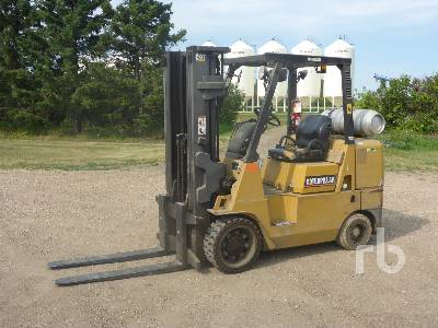 1987 CATERPILLAR GC40K 6000 Lb Warehouse Forklift