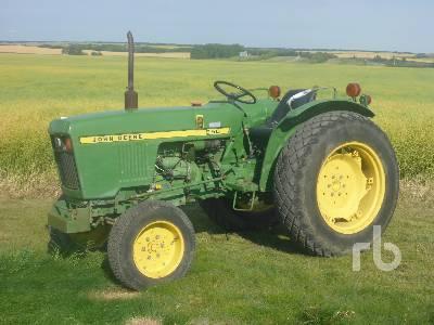 1979 JOHN DEERE 950 Utility Tractor