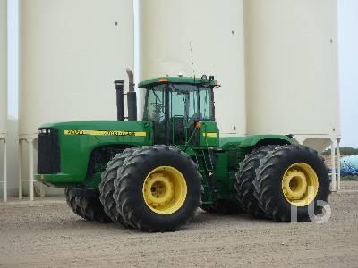 1998 JOHN DEERE 9400 4WD Tractor
