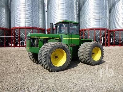 1982 JOHN DEERE 8650 4WD Tractor