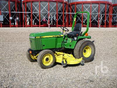 Unused 1990 JOHN DEERE 955 MFWD Utility Tractor
