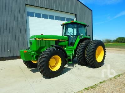 Unused 1992 JOHN DEERE 4760 MFWD Tractor