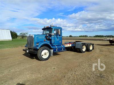 1982 WESTERN STAR 4864-2 T/A Day Cab Truck Tractor (T/A)
