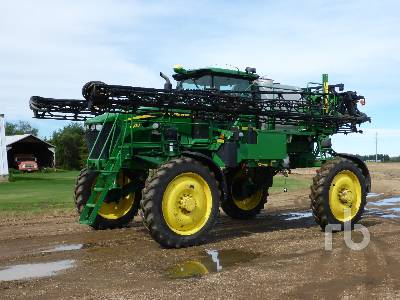 2008 JOHN DEERE 4830 100 Ft High Clearance Sprayer