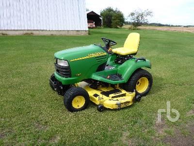 2005 JOHN DEERE X485 62 In. Garden Tractor