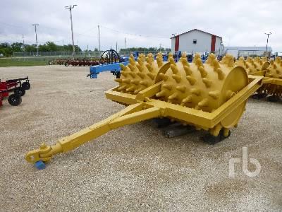 SHEEPS FOOT 9 Ft Tandem Tow-Behind Compactor