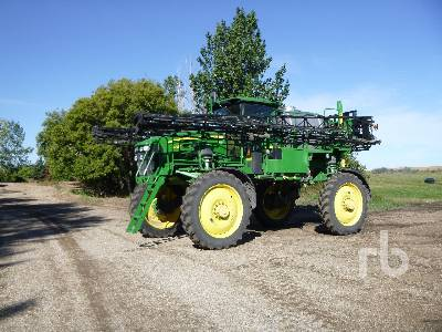 2011 JOHN DEERE 4830 100 Ft High Clearance Sprayer