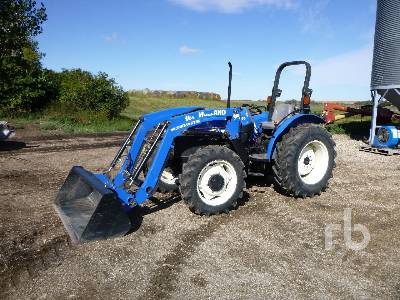 2011 NEW HOLLAND WORKMASTER 55 MFWD Utility Tractor