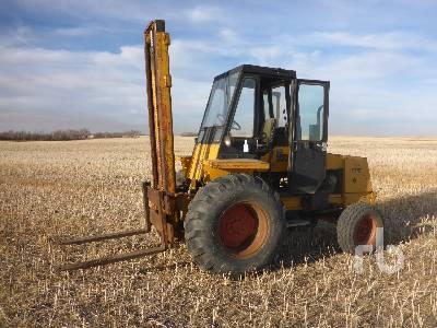 CASE 586 Rough Terrain Forklift
