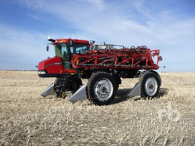 2010 CASE IH PATRIOT 4420 120 Ft High Clearance Sprayer