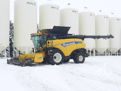 2017 NEW HOLLAND CR9.90 Elevation Combine