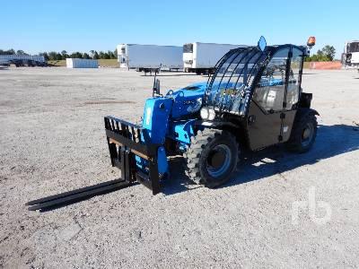 2015 GENIE GTH2506 5500 Lb 4x4x4 Telescopic Forklift