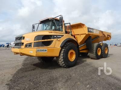 2014 VOLVO A40G 6x6 Articulated Dump Truck