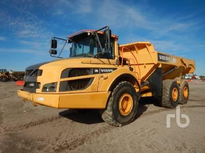 2014 VOLVO A30G 6x6 Articulated Dump Truck