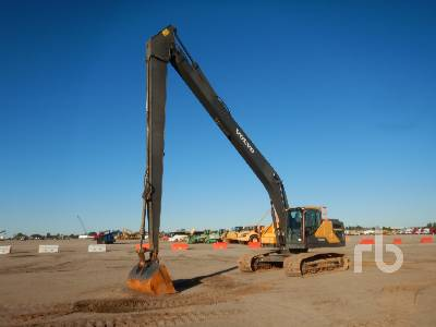 2018 VOLVO EC250ELR Long Reach Hydraulic Excavator