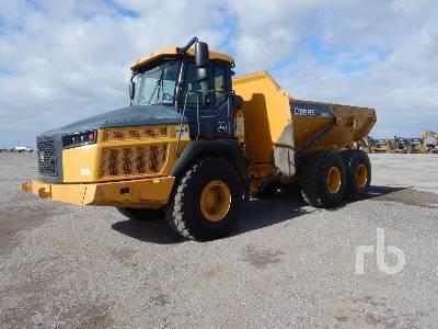 2017 JOHN DEERE 260ET 6x6 Articulated Dump Truck