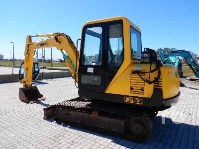 2010 HYUNDAI R60-7E Midi Excavator (5 - 9.9 Tons)