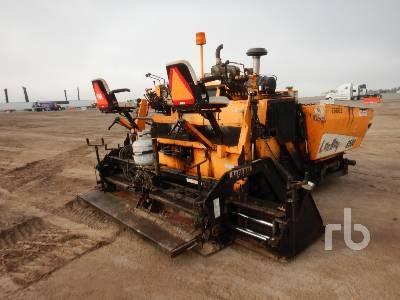 2012 LEEBOY 8500B Crawler Asphalt Paver
