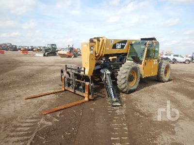 2009 CATERPILLAR TL1055 10000 Lb 4x4x4 Telescopic Forklift