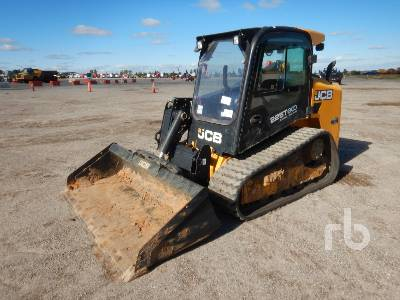 2016 JCB 225T 2 Spd High Flow Compact Track Loader