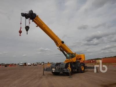 2008 GROVE RT700E 60 Ton 4x4x4 Rough Terrain Crane