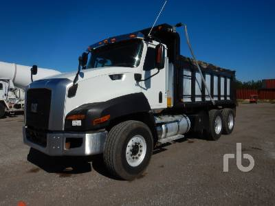2016 CATERPILLAR CT660S Dump Truck (T/A)