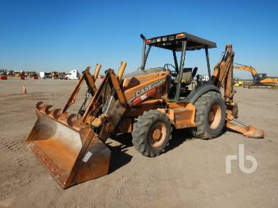 2007 CASE 580SM Series 2 4x4 Loader Backhoe