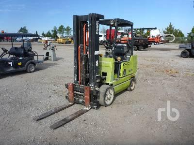1989 CLARK GCX25 4500 Lb Forklift