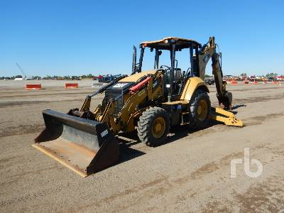 2016 CATERPILLAR 420F IT Series II 4x4 Loader Backhoe