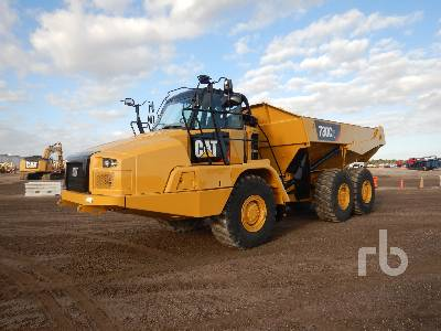 2017 CATERPILLAR 730C2 6x6 Articulated Dump Truck
