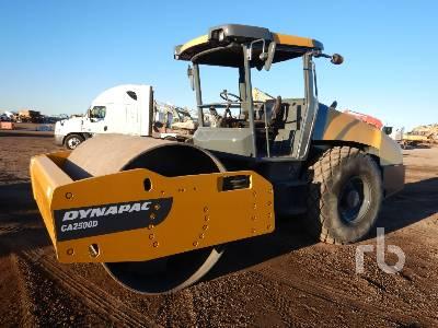 2014 DYNAPAC CA2500D Vibratory Roller