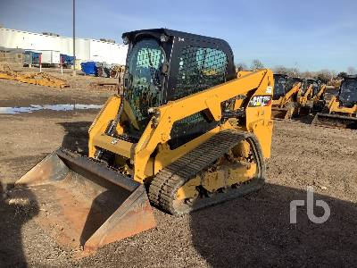 2018 CATERPILLAR 239D Compact Track Loader