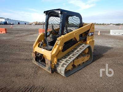 2017 CATERPILLAR 239D Compact Track Loader
