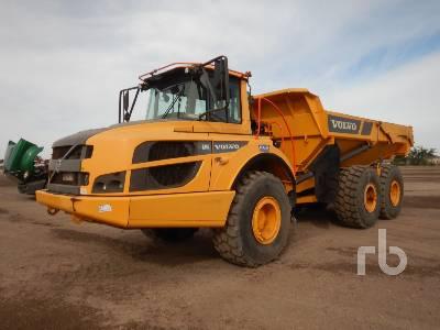 2017 VOLVO A25G 6x6 Articulated Dump Truck