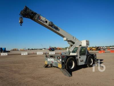 2010 GROVE YB5515 15 Ton 4x4x4 Carry Deck Crane