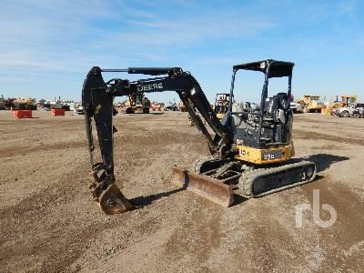 2016 JOHN DEERE 35G Mini Excavator (1 - 4.9 Tons)