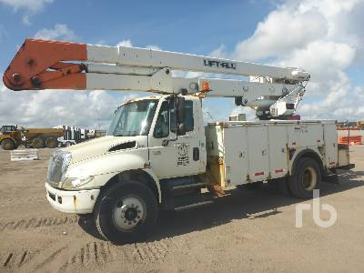 2007 INTERNATIONAL 4300 w/Lift-All LOM25552MS Bucket Truck
