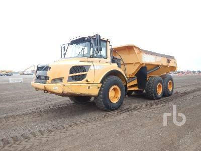 2012 VOLVO A25F 6x6 Articulated Dump Truck