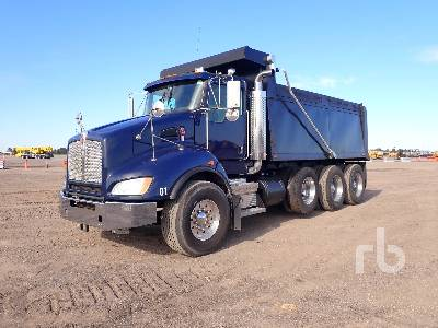 2012 KENWORTH T400 Dump Truck (Tri/A)