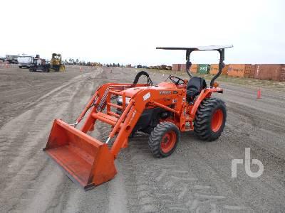 KUBOTA L3400HST-IF MFWD Utility Tractor