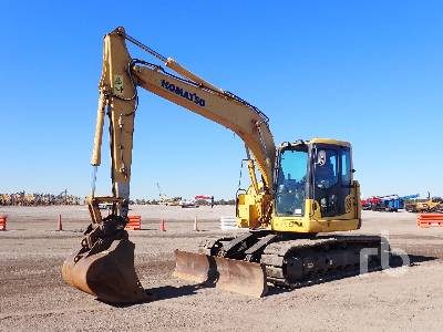 2011 KOMATSU PC138USLC-8 Hydraulic Excavator