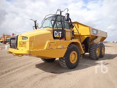 2018 CATERPILLAR 730C2 6x6 Articulated Dump Truck