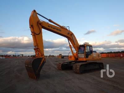 1995 HYUNDAI ROBEX 290LC-3 Hydraulic Excavator