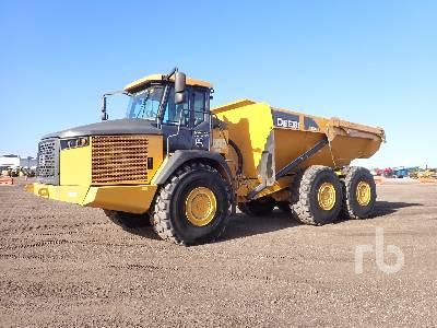 2017 JOHN DEERE 410E 6x6 Articulated Dump Truck