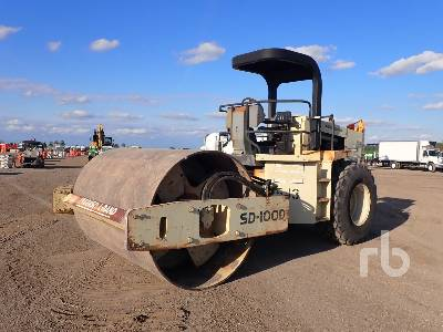 1999 INGERSOLL-RAND SD-100D Series B Vibratory Padfoot Compactor