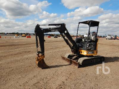 2015 JOHN DEERE 26G Mini Excavator (1 - 4.9 Tons)